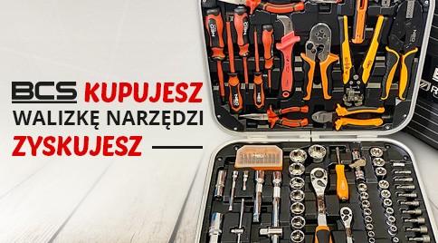 BCS kupujesz walizkę narzędzi zyskujesz!