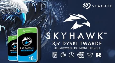 Dyski twarde do monitoringu - Seagate SkyHawk